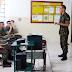 Tiro de Guerra recebeu chefe da seção em sua primeira visita de orientação técnica