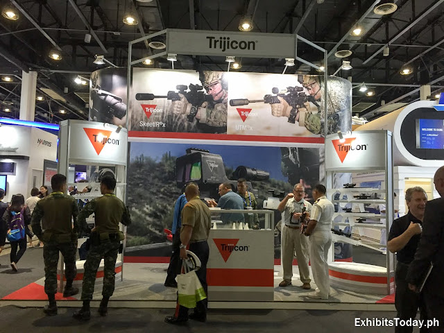 Trijicon Exhibit Booth