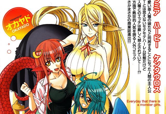 Manga Monster Musume entra en pausa indefinida