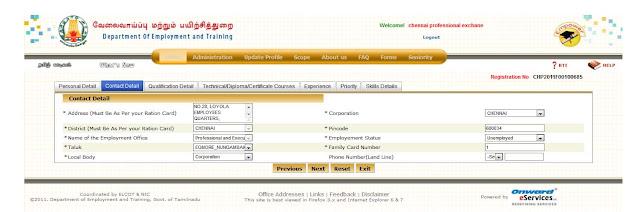 TN employment online registration form