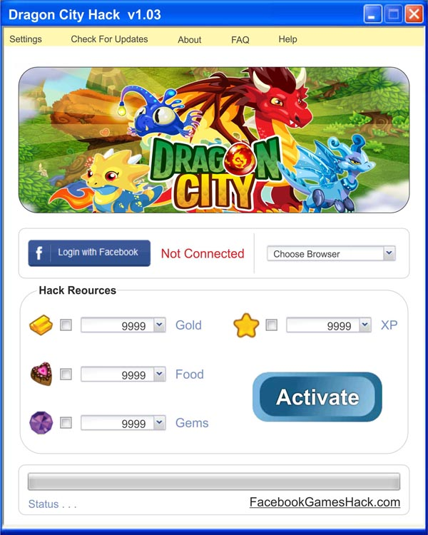 Dragon City Hack Tool Free Gold Food Gems