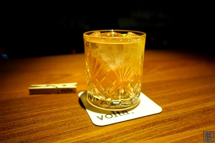 Le Chameau Bleu - Cocktail Kiss my Rhubarb - Volata - Séjour à Gand