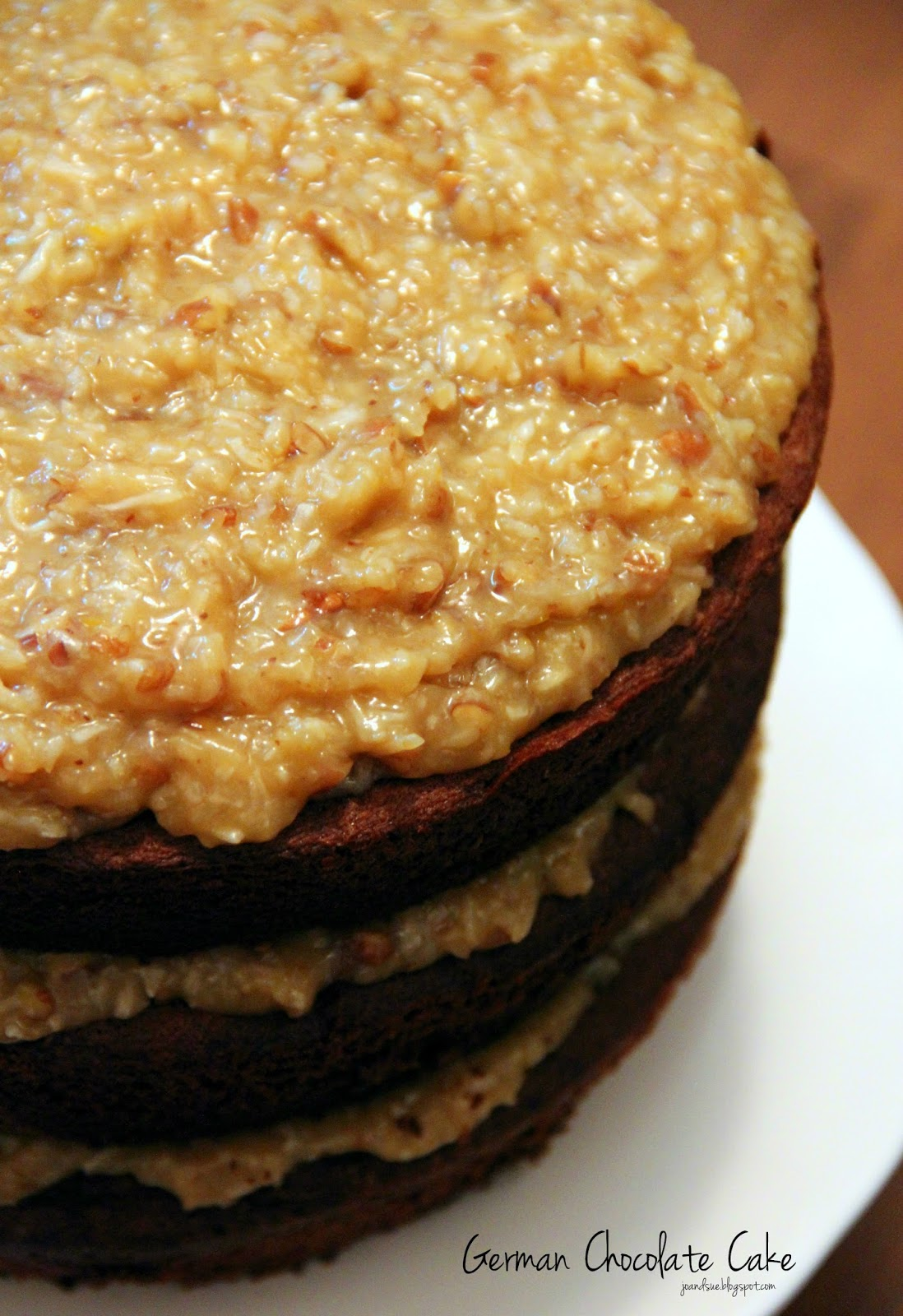 How To Thicken German Chocolate Cake Frosting