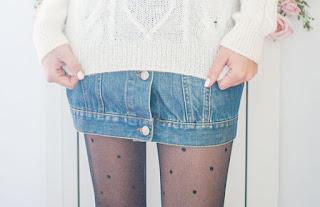 crear falda de botones a partir de un chaleco closet rehab