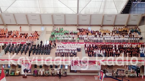 Masyarakat OKI Ikuti Orasi Nusantara Bersatu
