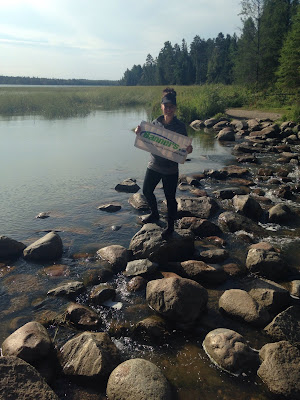 Backpacking with Banners - Itasca State Park | Banners.com