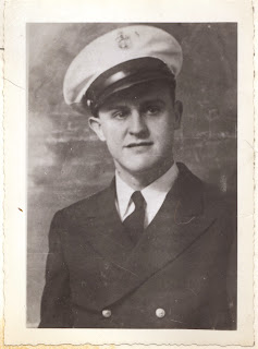 Portrait of Thomas Cuber in WWII uniform.