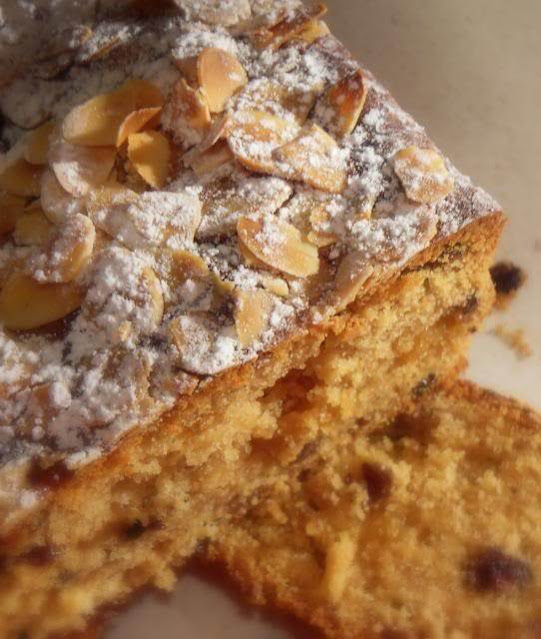 Mincemeat and Marzipan Tea Bread