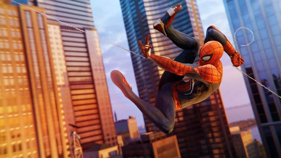 marvel's spider-man ps4 gameplay