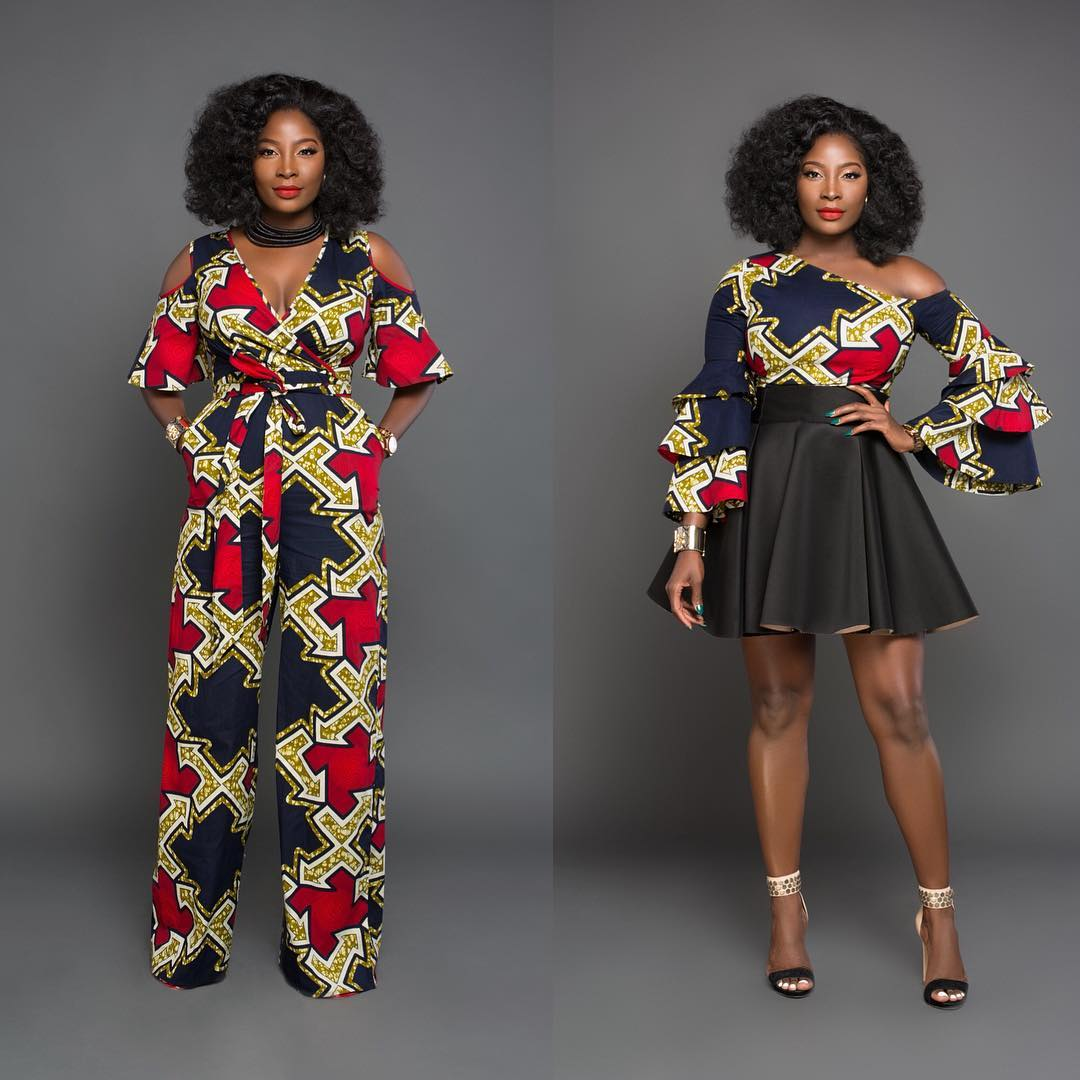 Latest Ankara Style In Town (Ankara Tops 2018)