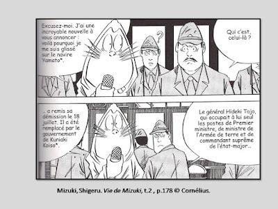 Mizuki, Shigeru. Vie de Mizuki © Cornélius