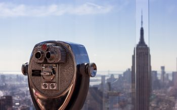 Wallpaper: Binocular & Empire State Building
