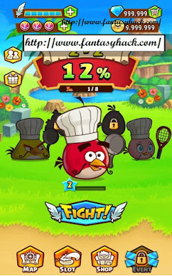 Download Free Game Angry Birds Fight! (All Versions) Unlimited Gems,Unlimited Coin,Unlimited Energy 100% Working and Tested for IOS and Android