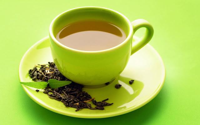 أمثل خلطات الشاي الأخضر لشعر صحي