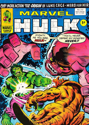 Mighty World of Marvel #213, Hulk vs Gremlin