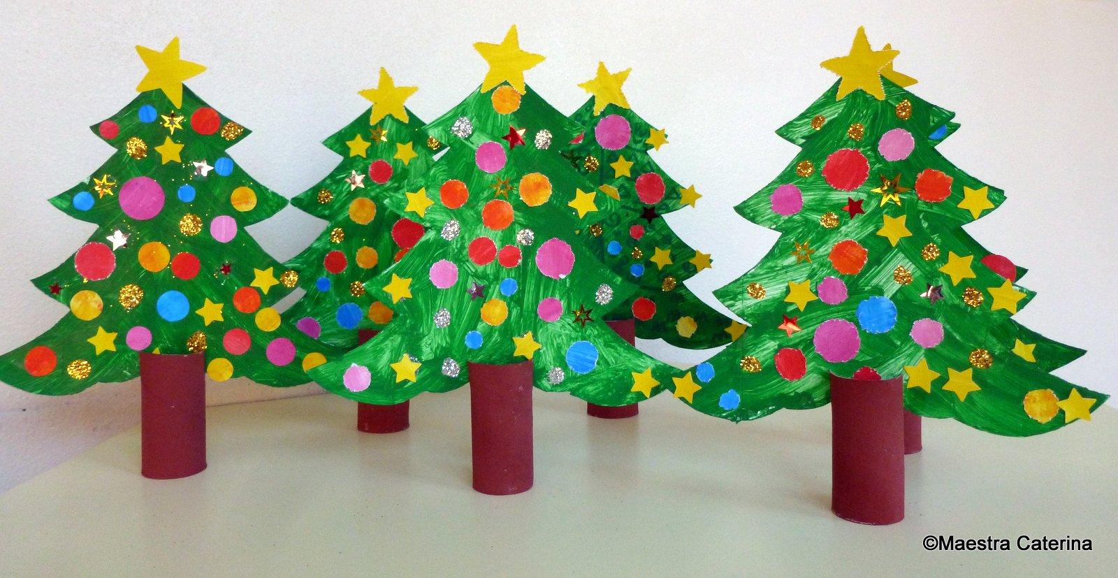Decorazioni di natale scuola materna lavoretti di natale for Addobbi di natale per bambini scuola infanzia
