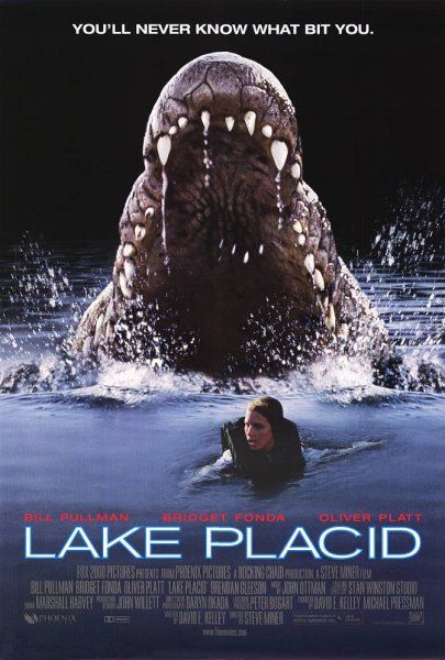 Lake Placid 1999 horror movie poster