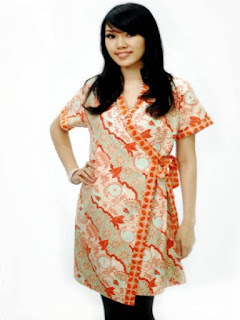 model baju batik atasan wanita modern 2018