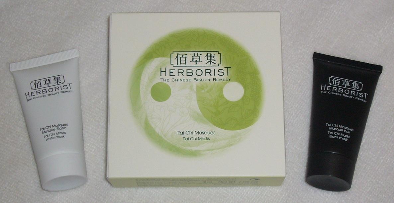 premier coup d'oeil double coupon esthétique de luxe Masques T'ai Chi Herborist, une expérience inédite