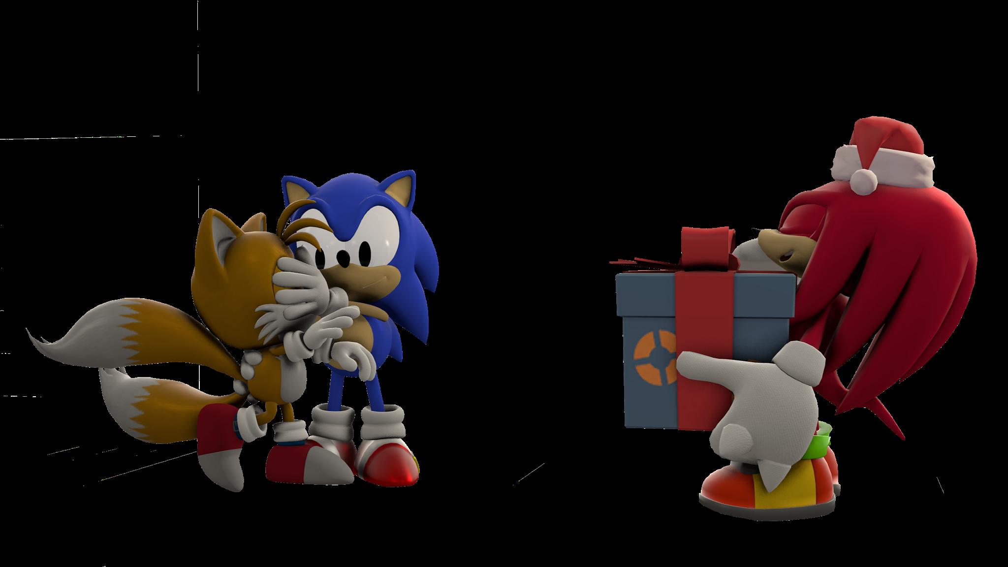 Render Xmas Sonic