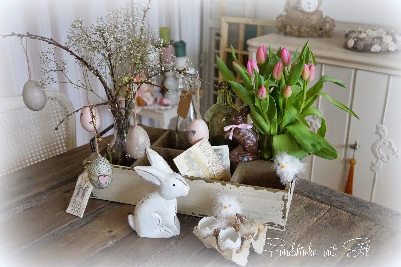 Fundst cke mit stil oster dekoration deko donnerstag - Osterdekoration ideen ...