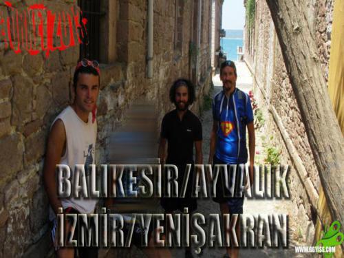 2013/06/27 Türkiye Turu 4. GÜN (Ayvalık-Yenişakran)