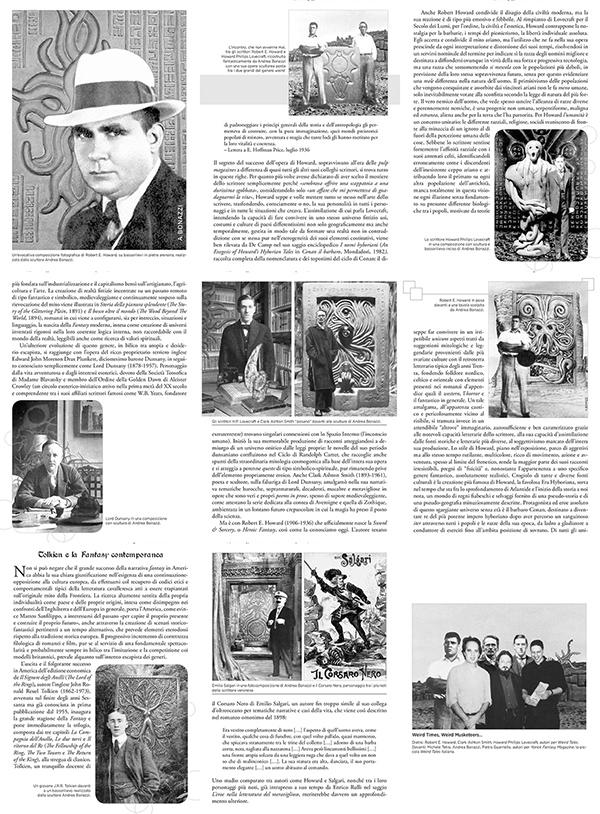Robert E. Howard e gli eroi della Valle oscura, illustrazioni