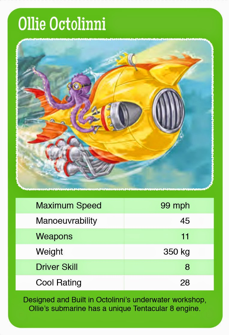 Top Trumps Rules >> Scribble Street News: THE SILVER SERPENT CUP Top Trumps card game and colouring sheets
