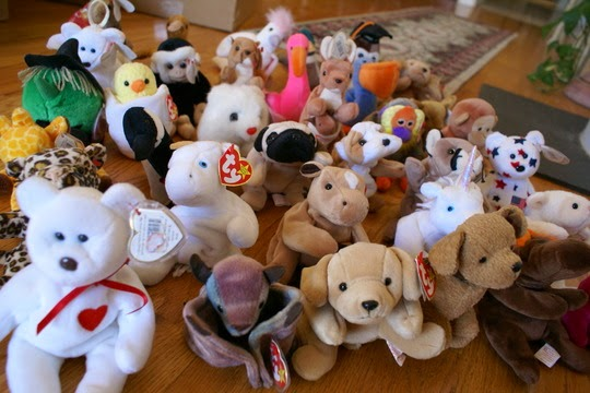 RETRO KIMMER S BLOG  THE BEANIE BABIES COLLECTING CRAZE OF THE LATE ... 9bfb8c3663b9