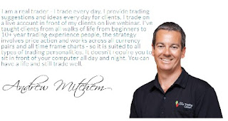 andrew mitchem of the forex trading coach