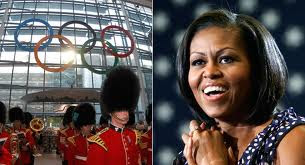 Michelle Obama is heading to London for the Olympics