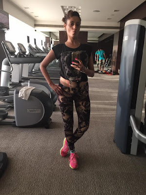 Gurleen Chopra work out photo