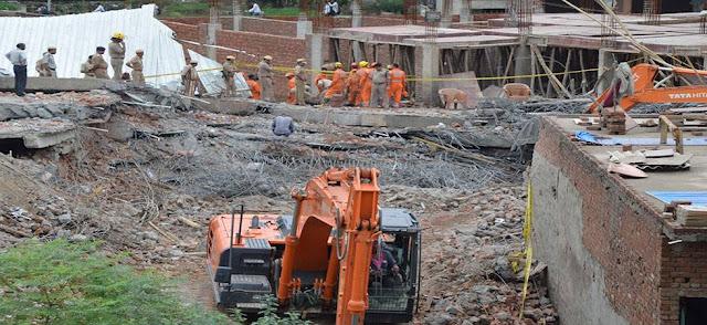 गाजियाबाद विकास प्राधिकरण ने 84 अवैध इमारतें सील की