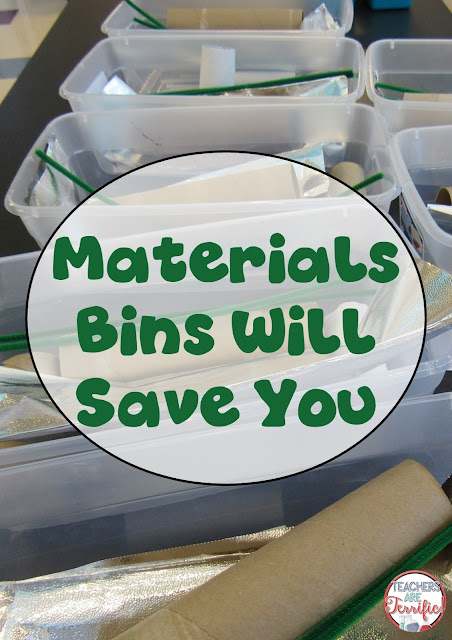 Lab class: Giving out materials is a huge process! Do you know how long it takes for kids to count out 10 straws, 12 paper clips, 50 toothpicks, and six cups? Too long- check this blog post for some tips about this topic!