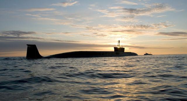 Borey-class ballistic missile submarine