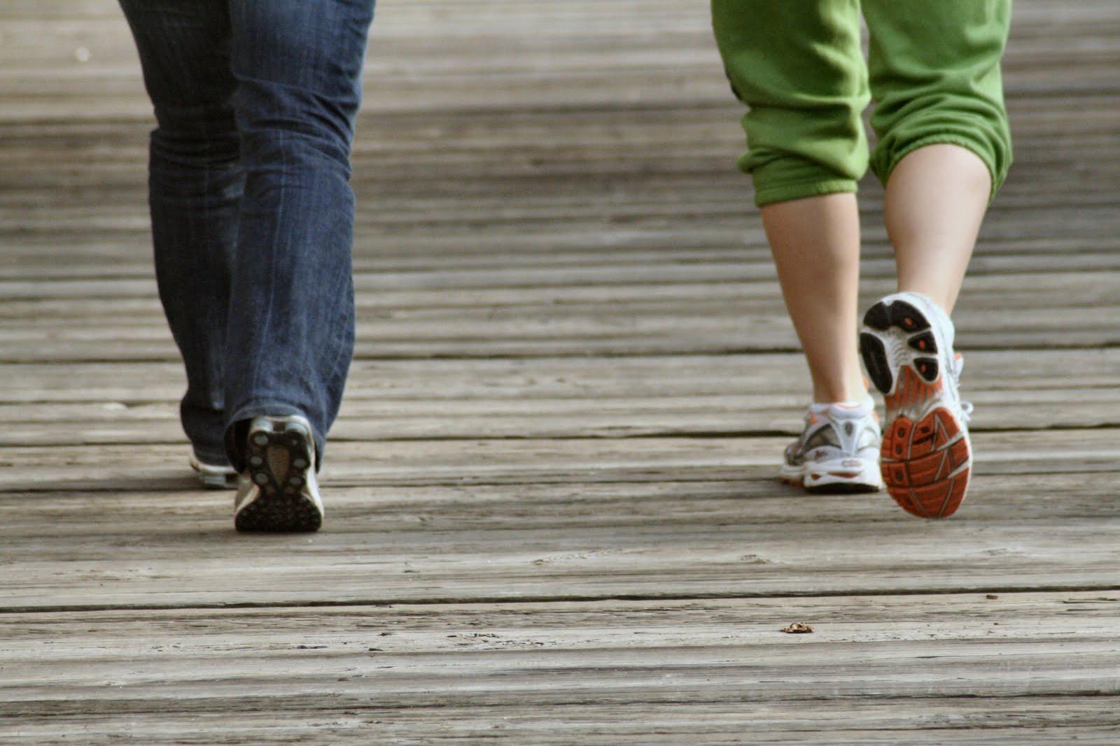 Undulation Exercises: Walking: Roll Through The Feet ...