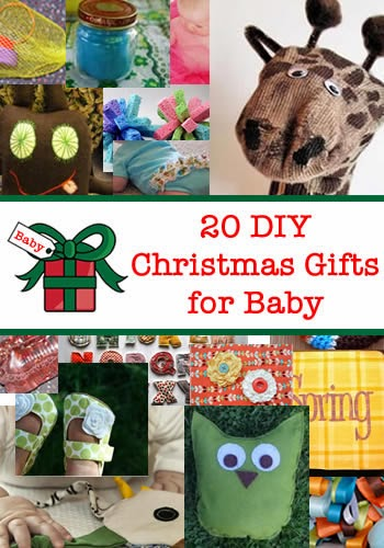 20 DIY Christmas Gifts for Baby - Handy DIY