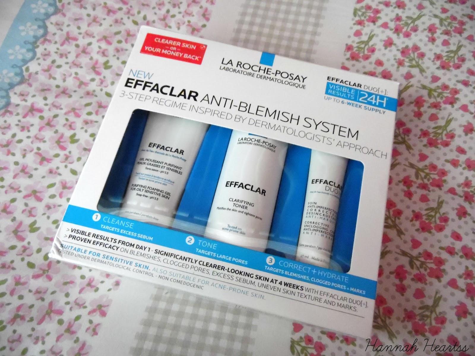La Roche Posay Effaclar 3 Step Anti-Blemish System