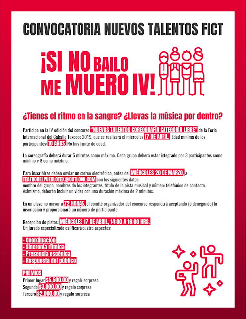 concurso del baile feria del caballo texcoco 2019