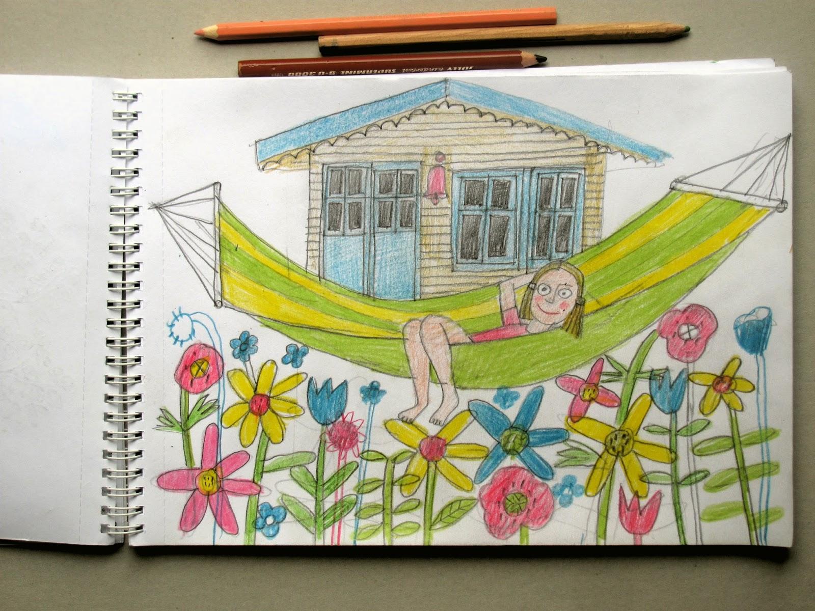 Ehrfürchtig Garten Zeichnen Ideen