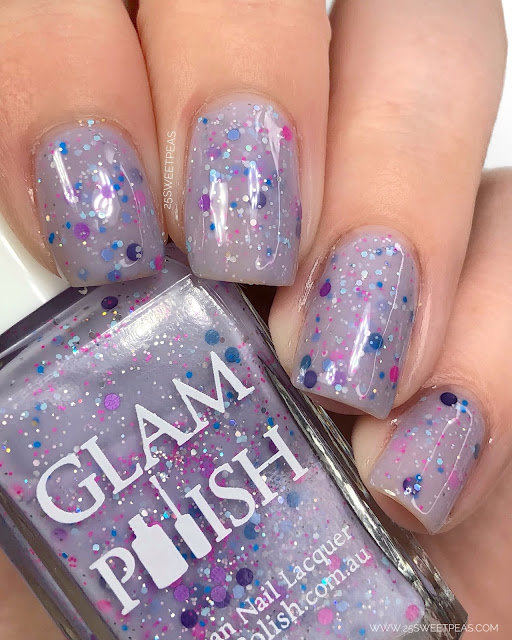 Glam Polish 25 Sweetpeas