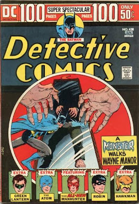 Detective Comics #438, Batman, A Monster Walks Wayne Manor