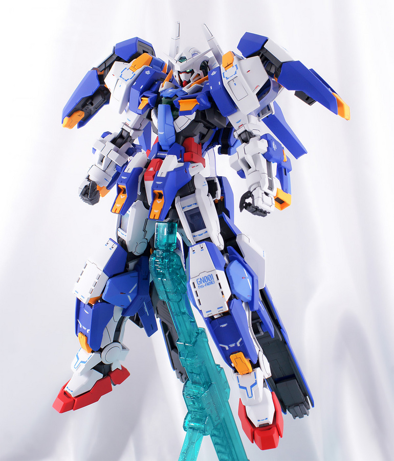 Custom Build: MG 1/100 Gundam Avalanche Exia Dash - Gundam Kits Collection News and Reviews