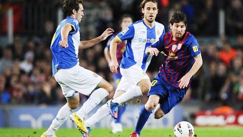 Trong lịch sử thì Espanyol chưa bao giờ là đối thủ với Barca