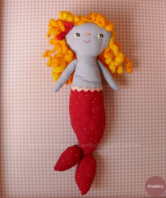 rag doll unique handmade
