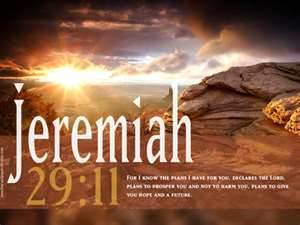 Jeremiah 29:11 Bible Verse Wallpaper Free Download