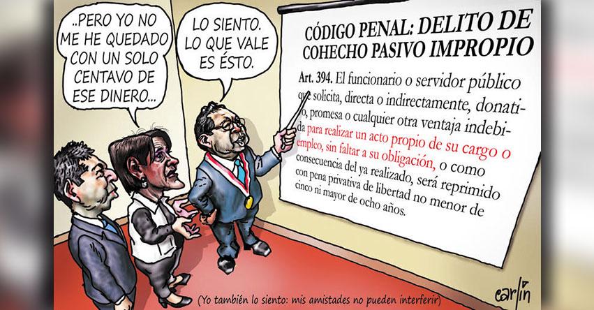Carlincaturas Sábado 07 Abril 2018 - La República