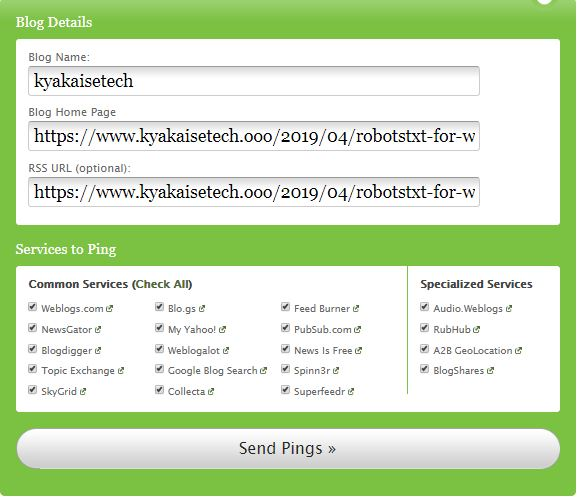 What is pingomatic? Fast Index In all Search Engines?
