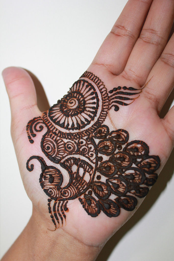 Mehndi Peacock Design : Best peacock henna mehndi designs bling sparkle