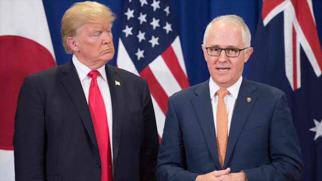 Australia advierte a EEUU que 'China desafía su posición' en Asia